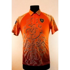 Футболка IPSC Lady оранжево–терракотовая